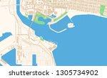 long beach california printable ... | Shutterstock .eps vector #1305734902