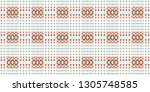 colorful seamless pattern for... | Shutterstock . vector #1305748585