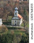 barilovicki cerovac  croatia  ... | Shutterstock . vector #1305768355