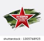 greeting card. translation... | Shutterstock .eps vector #1305768925