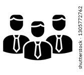 team work business icon design...