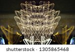 abstract symmetrical... | Shutterstock . vector #1305865468