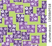 seamless pattern made up of...   Shutterstock .eps vector #1305869518
