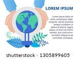 vector illustration in flat... | Shutterstock .eps vector #1305899605
