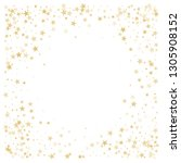 gold glitter stars corners...   Shutterstock .eps vector #1305908152