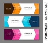 vector graphic design banner... | Shutterstock .eps vector #1305913438