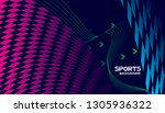 abstract futuristic background. ...   Shutterstock .eps vector #1305936322