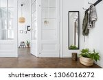 spacious and stylish home... | Shutterstock . vector #1306016272