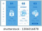 cable tv  internet  phone... | Shutterstock .eps vector #1306016878