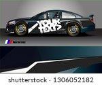 car graphic background vector.... | Shutterstock .eps vector #1306052182