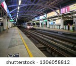 bts mo chit sky train station... | Shutterstock . vector #1306058812