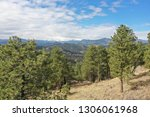drone image of colorado nature | Shutterstock . vector #1306061968
