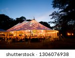 Wedding tent at night   special ...