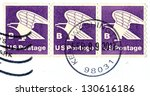 usa   circa 2013  part of... | Shutterstock . vector #130616186