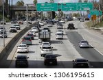 los angeles  ca   usa   2 5... | Shutterstock . vector #1306195615