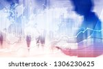 business abstract background... | Shutterstock . vector #1306230625