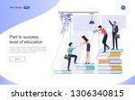 education concept for web... | Shutterstock .eps vector #1306340815