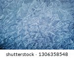 ice natural textured blue...   Shutterstock . vector #1306358548
