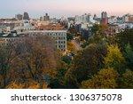 autumn sunset view over harlem... | Shutterstock . vector #1306375078