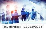 big city business | Shutterstock . vector #1306390735