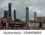 kali asin  semarang  a slump... | Shutterstock . vector #1306408885