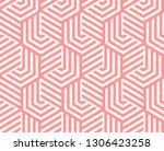 abstract geometric pattern with ... | Shutterstock .eps vector #1306423258