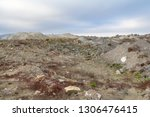 spoil heap scenery at a quarry... | Shutterstock . vector #1306476415