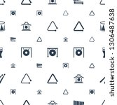 percussion icons pattern... | Shutterstock .eps vector #1306487638