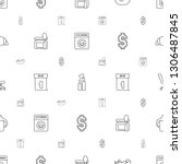nobody icons pattern seamless...   Shutterstock .eps vector #1306487845