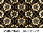 seamless oriental classic... | Shutterstock . vector #1306498645