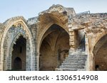 ruins of the abbey of bellapais ... | Shutterstock . vector #1306514908