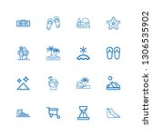 Editable 16 Sand Icons For Web...