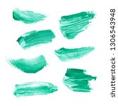 hand painted elements for... | Shutterstock . vector #1306543948