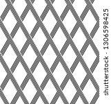 seamless diamonds pattern.... | Shutterstock .eps vector #1306598425