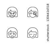linear arguing  sca  detective  ... | Shutterstock .eps vector #1306616518