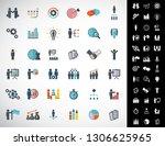 universal business strategy...   Shutterstock .eps vector #1306625965