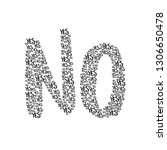 yes yes yes   no.   lovely...   Shutterstock .eps vector #1306650478