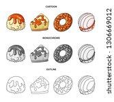 vector design of confectionery... | Shutterstock .eps vector #1306669012