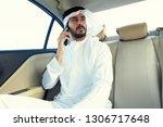inspired arabic man on the...   Shutterstock . vector #1306717648