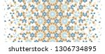 arabesque vector seamless...   Shutterstock .eps vector #1306734895