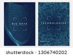 big data background. technology ...   Shutterstock .eps vector #1306740202