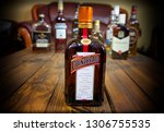 alcoholic french ligueur... | Shutterstock . vector #1306755535