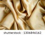 fabric silk texture background | Shutterstock . vector #1306846162