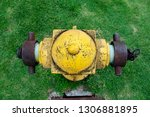 A Weathered Yellow Fire Hydrant ...