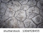 old and dirty stone floor of... | Shutterstock . vector #1306928455