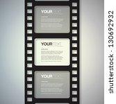 Film Strip Design Text Box...