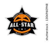 all star basketball  sports... | Shutterstock . vector #1306960948