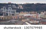 genova  genoa  italy   february ... | Shutterstock . vector #1307079985