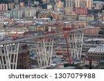 genova  genoa  italy   february ... | Shutterstock . vector #1307079988