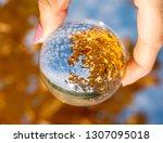 Magic Crystal Ball  Sky And...